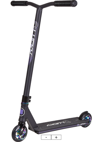 Lucky Crew 2019 Pro Scooter Color: Black/Neochrome