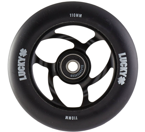 Lucky Torsion Pro Scooter Wheel Color: Black Diameter: 110mm