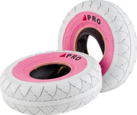 ROCKER/WILDCAT WHITE/PINK TIRE 1PC + INNER TUBE