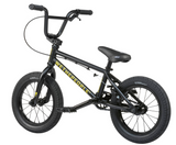 "Wethepeople Riot 14"" 2021 BMX Bike For Kids Matt Black"