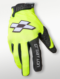 Faith Creation Fluo yellow Gloves