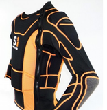 S1 Safety Jacket Black/Orange