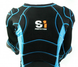 S1 Safety High Impact Jacket Black/Blue