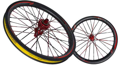 BOMBSHELL CS CARBON WHEELSET NEW 2018 36h