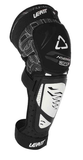 KNEE & SHIN GUARD 3DF HYBRID EXT BLACK/WHITE