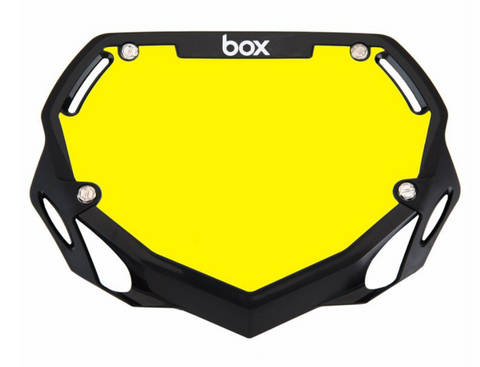 BOX TWO NUMBER PLATE BLACK