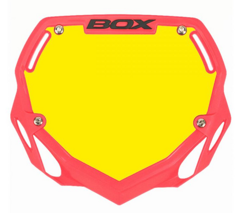 BOX TWO NUMBER PLATE PINK PRO