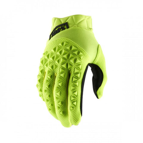 100% Airmatic Glove Yellow Black