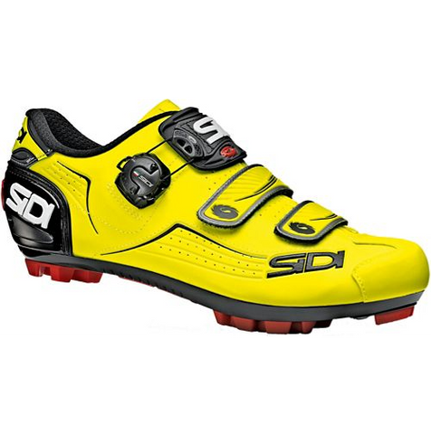 Sidi trace Click Shoe Yellow