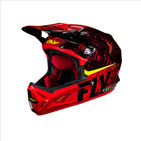 FLY Werx Imprint 2019 Mips Carbon Helmet Red