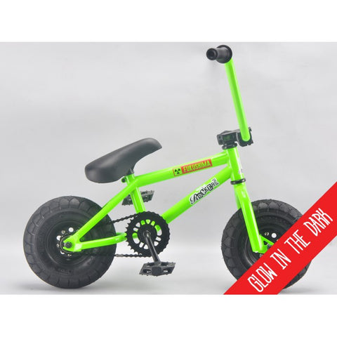 "ROCKER BMX ""FUKUSHIMA IROK"" MINI BMX BIKE (GLOW IN THE DARK)"