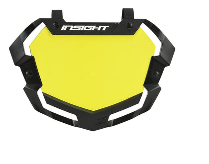 INSIGHT 3D VISION2 PRO NUMBER PLATE YELLOW BG