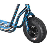 ROCKER ROLLA BIG WHEEL SCOOTER - BLUE SPATTER