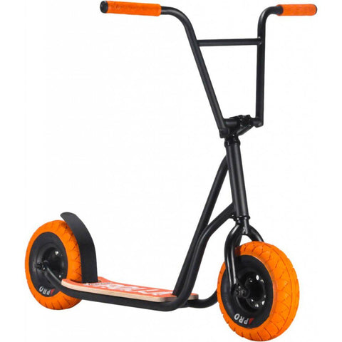 ROCKER ROLLA BIG WHEEL SCOOTER - BLACK ORANGE