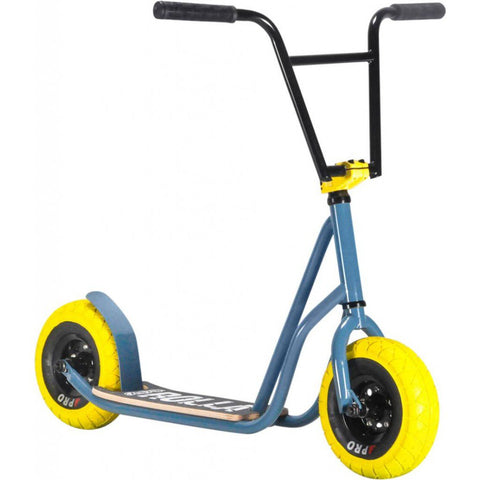 ROCKER ROLLA BIG WHEEL SCOOTER - GREY YELLOW