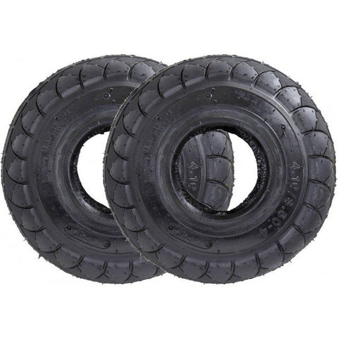 BLACK/BLACK wall TIRE 1PC + INNER TUBE