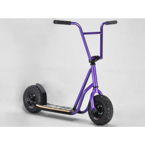 ROCKER ROLLA BIG WHEEL SCOOTER - PURPLE FADE