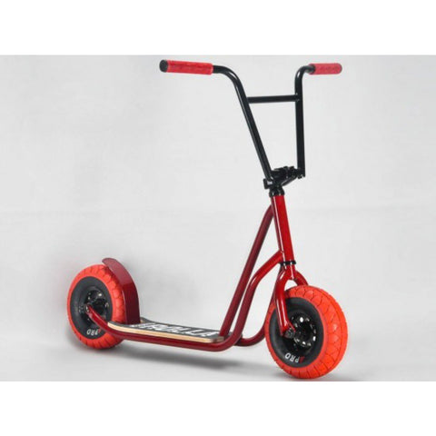 ROCKER ROLLA BIG WHEEL SCOOTER - RED Pre order for August 2021