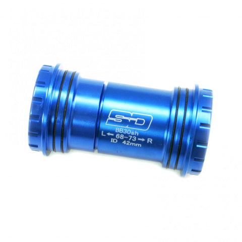SD Bottom Bracket BB30 conversion to 24mm spindle V2 Blue