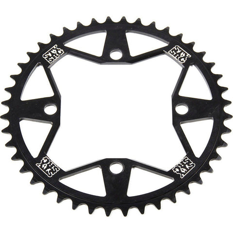 Stay Strong 7075 Alloy 4 Bolt Chainring Black