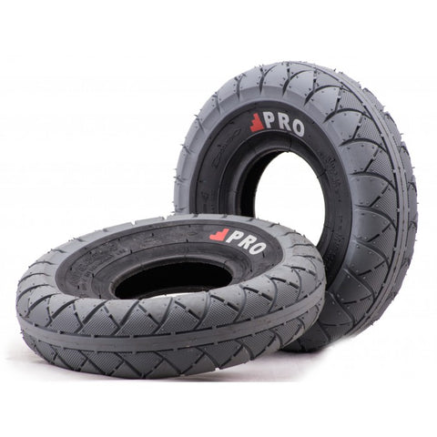 ROCKER GREY/BLACK WALL TIRE 1PC + INNER TUBE