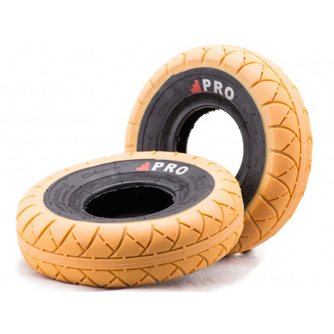 ROCKER GUM/BLACK WALL TIRE 1PC + INNER TUBE