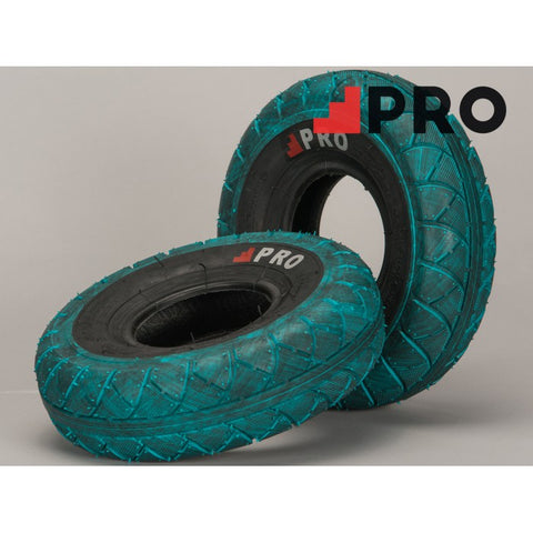 ROCKER BLUE/BLACK MARBLED TIRE 1PC + INNER TUBE