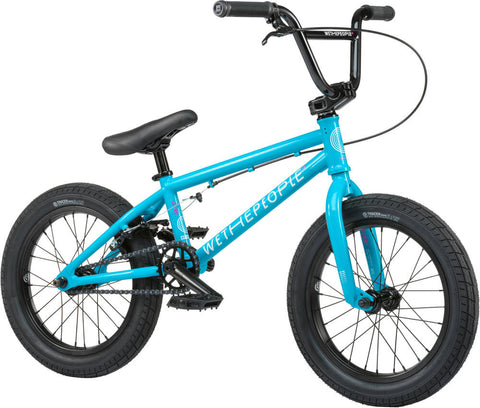 "Wethepeople Seed 16"" 2021 BMX Bike For Kids Blue"