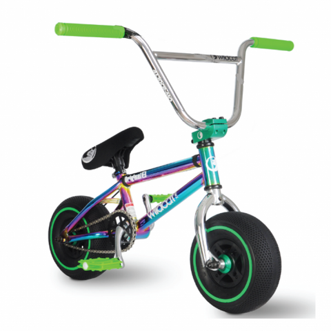 Wildcat21 Mini BMX New Royal green - no brake