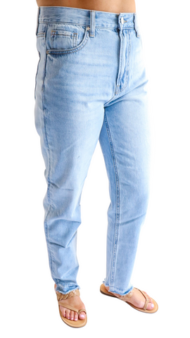 World Class High Rise Medium Wash Jeans