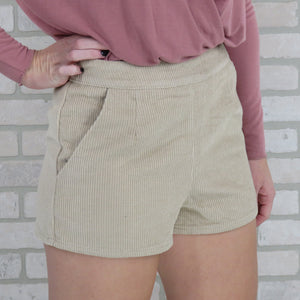 Crushin' In Corduroy Shorts