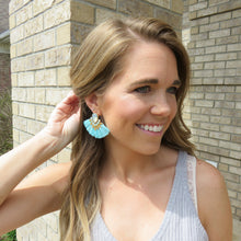 Sweet Serendipity Tassel Earring Blue