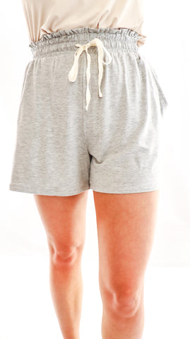 Sweet Honey Knit Shorts Gray