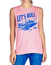 Let's Roll Graphic Tank