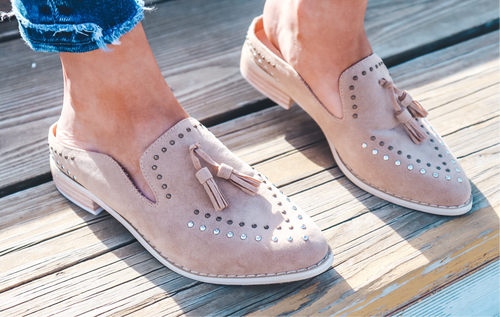 The Addi Studded Mules