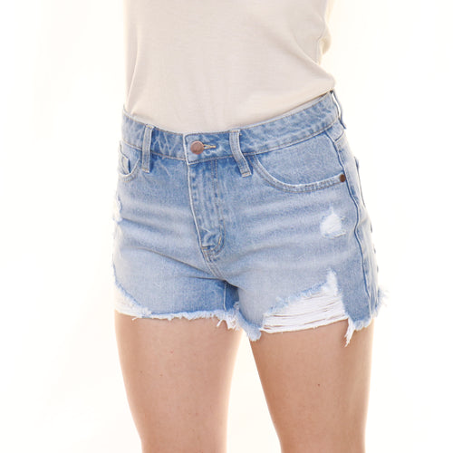 The Madi Denim Shorts