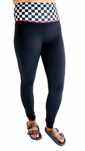 Finish Line High Waist Leggings