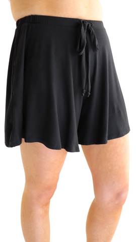 Sweet Thing Knit Shorts Black