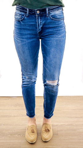 The Haley Mid Rise Denim
