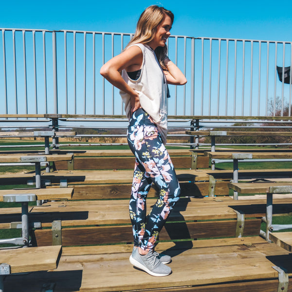 Hidden Paradise Leggings Floral