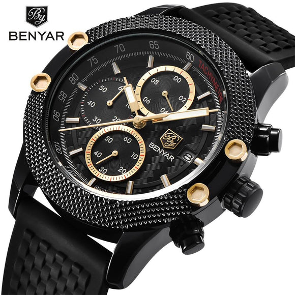 Benyar Formal Mens Watch - Fancy Lifestyles