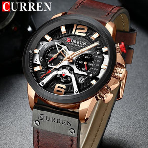 Curren Mens Watch Chronograph - Fancy Lifestyles