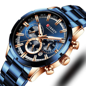 CURREN MENS WATCH 8355 - Fancy Lifestyles