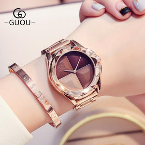 Guou Luxurious Ladies Watch 2 - Fancy Lifestyles