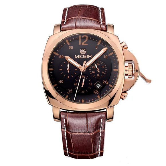 Megir Chronograph Men's Watch 4 - Fancy Lifestyles