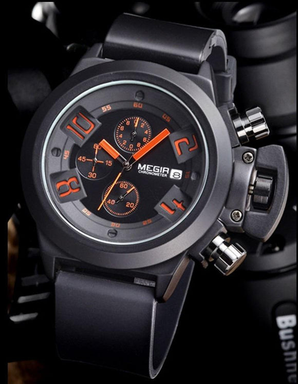 Megir Military Mens Watch - Fancy Lifestyles