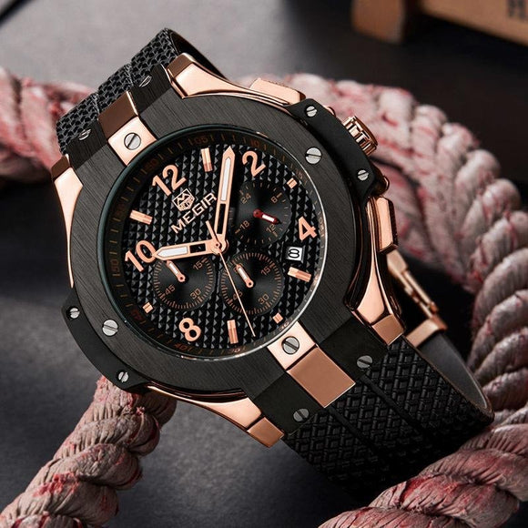 Megir Military Mens Watch 2 - Fancy Lifestyles
