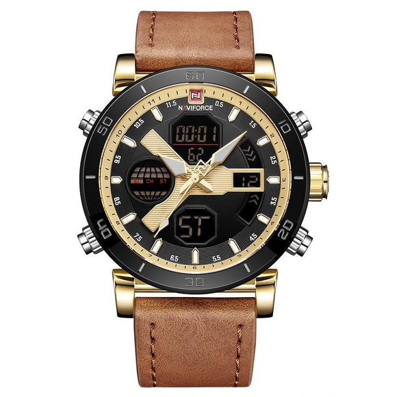 Naviforce Mens Smart-Casual Watch - Fancy Lifestyles