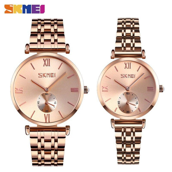 Skmei Couple Mens & Ladies Watch (2xwatches) - Fancy Lifestyles