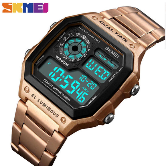Skmei Sports Digital Ladies & Mens Watch - Fancy Lifestyles